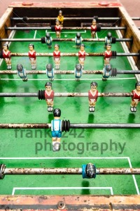 old table soccer game - franky242 photography
