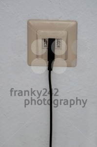 phone box and cable - franky242 photography