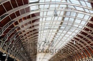 railway station roof - franky242 photography
