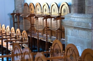 rows of prayers chairs - franky242 photography