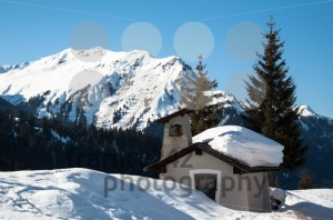 small chapel in skiing resort - franky242 photography