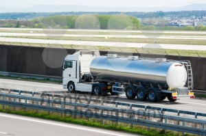 tanker truck on highway - franky242 photography