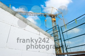 tower crane at construction site - franky242 photography