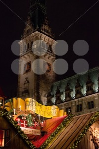 traditional christmas market in Hamburg, Germany - franky242 photography