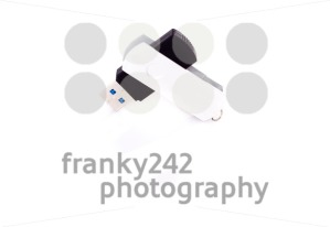 usb stick on white - franky242 photography