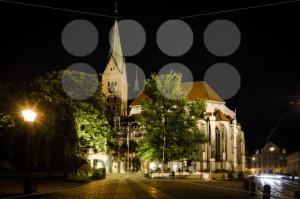 Cathedral of Augsburg at night - franky242 photography