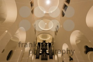 Modern Church interior with organ - franky242 photography