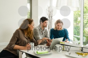 Start-up business team in meeting - franky242 photography