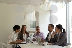 business meeting in a bright environment - franky242 photography