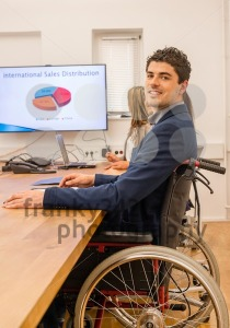 inclusion – portrait of a man in wheelchair - franky242 photography
