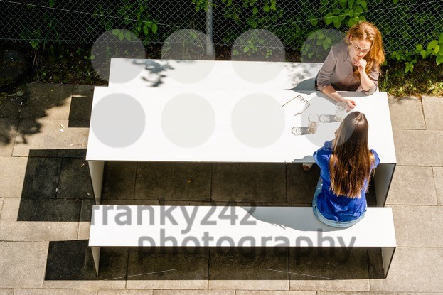 Businesswomen having coffee break - franky242 photography