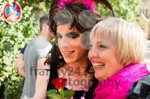 Claudia Roth on Christopher Street Day in Stuttgart, Germany - franky242 photography