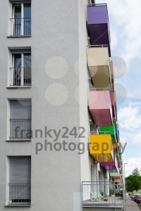 Colorful balconies - franky242 photography