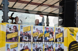 Fritz Kuhn on Christopher Street Day in Stuttgart, Germany - franky242 photography