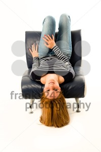 Girl lying face down - franky242 photography