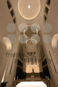 Modern Church interior with altar - franky242 photography