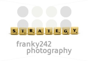 Strategy crosswords made out of letter blocks - franky242 photography