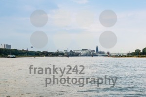 City Skyline of Cologne in Germany - franky242 photography