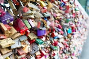 Love Lockers at Hohenzollern Bridge in Cologne, Germany - franky242 photography