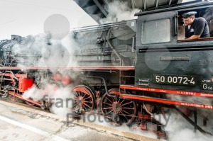 classic steam locomotive starting engines - franky242 photography