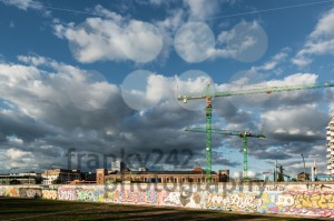 Buildings along the Berlin East Side Gallery - franky242 photography