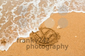 Nature strikes back – Volkswagen logo being washed away - franky242 photography