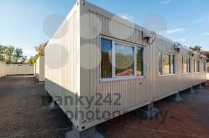 Refugees welcome – temporary container city - franky242 photography