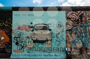 Trabi on the Berlin East Side Gallery - franky242 photography