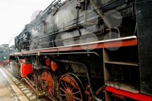detail of a classic steam locomotive - franky242 photography