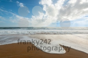 Waves on the beach - franky242 photography
