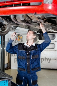 Auto mechanic portrait - franky242 photography