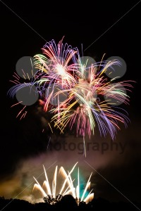 Fireworks with space for your text - franky242 photography