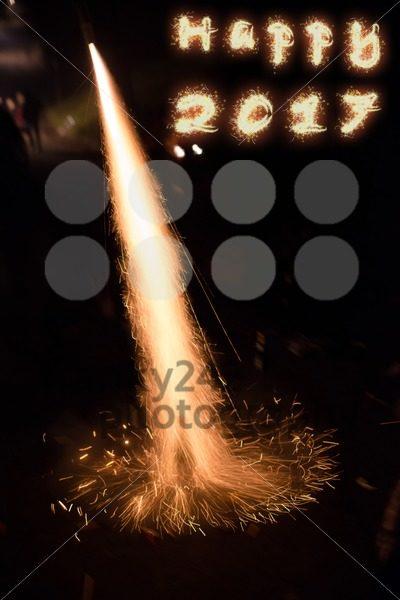 Happy 2017 fireworks - franky242 photography