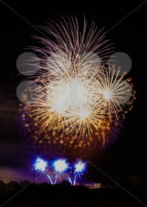 Large fireworks display - franky242 photography