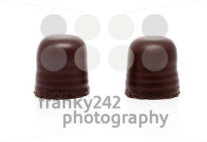 two chocolate covered marshmallows - franky242 photography