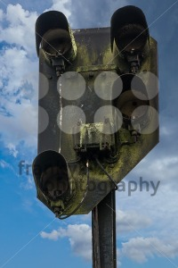 Old rusty railway signal - franky242 photography