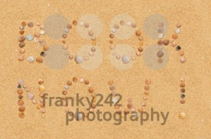 Book now wording on the beach - franky242 photography