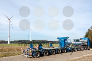 Construction of wind turbines - franky242 photography