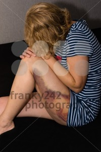Domestic violence against woman - franky242 photography
