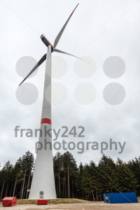 Newly ercted wind turbine - franky242 photography