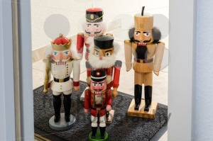 Traditional Nutcrackers Waiting For Entrance - franky242 photography