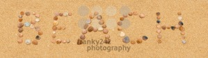 Word beach on the sandy beach - franky242 photography