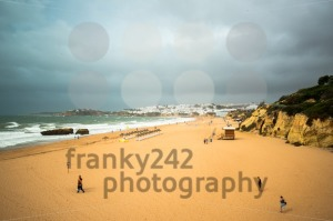Almost empty beach in autumn - franky242 photography