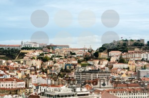Beautiful colorful and vibrant cityscape of Lisbon, Portugal - franky242 photography