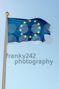 Rundown European Union Flag - franky242 photography