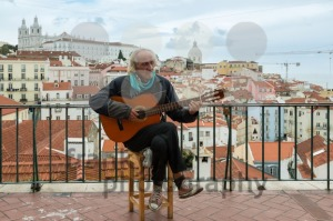Typical Fado Musician in Lisbon - franky242 photography