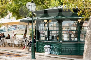 Typical Lisbon Kiosk - franky242 photography