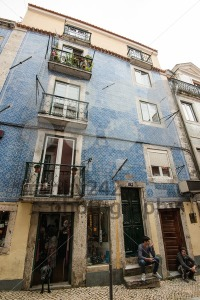 Typical Lisbon Street Scene - franky242 photography