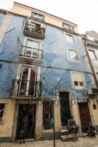 Typical Lisbon Street Scene - franky242 photography