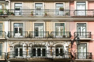Typical Lisbon architecture, Portugal - franky242 photography